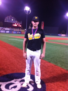 Chris Karnbach at the NYC Mayor's Cup at MCU Park on Coney Island in June.