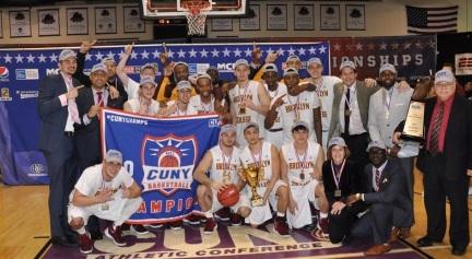 Brooklyn College Men's Basketbal team