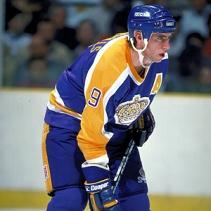 NHL legend Bernie Nicholls.
