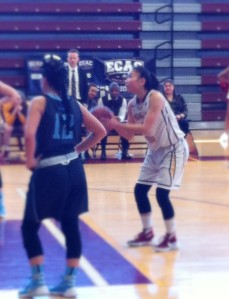 Karen Mak, the team's captain, added 10 rebounds and 8 steals to help claim the tournament's Most Outstanding Player award for her overall efforts in the final and semifinal—a 65-40 rout of No. 4 Centenary College played at Brooklyn College, in which she posted 7 points, 7 boards and 6 assists.